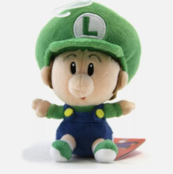 Baby Luigi Plush - Super Mario Collection
